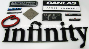 ABS Plastic Chrome Car Emblem pictures & photos