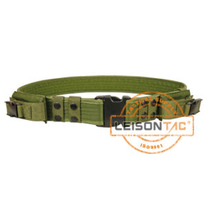 Military Police Duty Belt Nylon ISO Standard with Pouches (JYPD-NL24B) pictures & photos