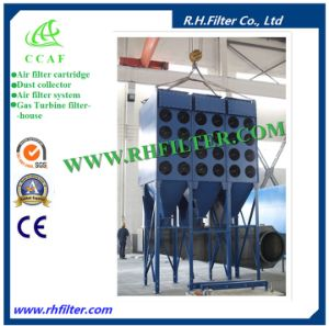 Ccaf Rh/Xlc3-12 Downflow Cartridge Dust Extractor pictures & photos