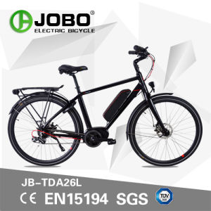 500W MTB Centre Motor E-Bicycle with En Certificate Moped Electric Bike (JB-TDA26L) pictures & photos