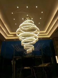 Crystal Lobby Ceiling Lamp (WHC-6615Z) pictures & photos
