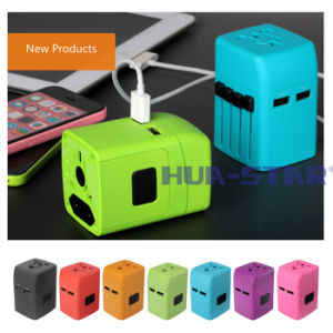 Customized Travel Adapter with USB Charger pictures & photos