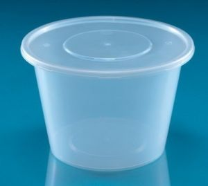 Round Disposable Plastic PP Food Packing Container