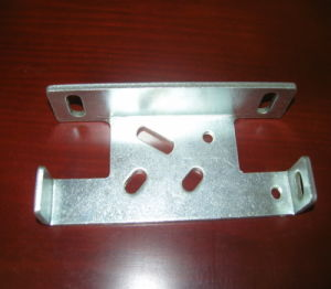 White Zinc Plated Steel Metal Stamped Parts for Furniture pictures & photos