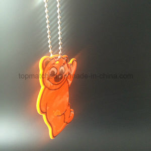 Cute Bear PVC Reflector Reflective Pendant pictures & photos