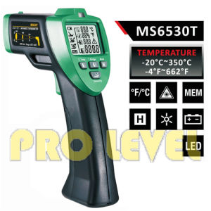 Pfofessional Accurate Non-Contact Infrared Thermometer (MS6530T) pictures & photos