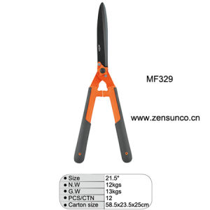 "21.5"" Plastic Handle Hedge Shear pictures & photos"