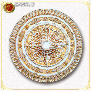 Light-Weight Artistic 3D Medallion for Home Decoration (BRP11-965-F1) pictures & photos