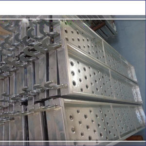 Galvanized Steel Plank for Scaffold& V Stiffener Metal Scaffold Plank pictures & photos