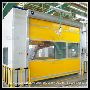 Warehouse Fast Speed High Quality Cheap Price Rolling Curtain Door