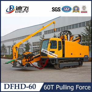 60t Pulling Force Horizontal Directional HDD Drilling Rig for Sale pictures & photos