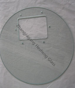 4mm Clear Toughened Glass as Washing Machine Cover