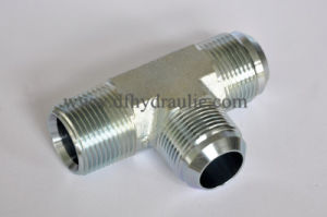 Tee 37 Degree Male Tube and Female Pipe Adapter pictures & photos