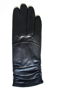 Lady Fashion Leather Gloves (JYG-24077) pictures & photos