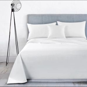 White S Jacquard Air Layer Fabric Waterproof Bed/Linen Sheet /Bedspread  Coated With TPU