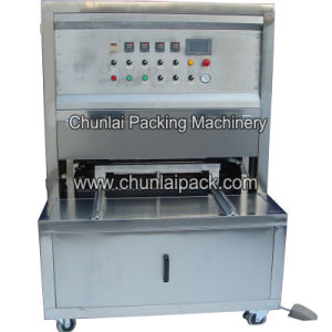 Vertical Vacuum Jelly Cup Sealing Machine pictures & photos