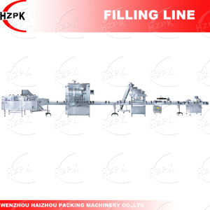 Paste Filler/Paste Filling Machine+Capping Machine+ Labeling Machine From China pictures & photos