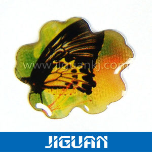 Non-Yellowing Customized Logo PU and Epoxy Resin Sticker pictures & photos