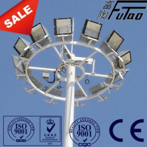 En BS 1461 Standard Galvanized with 20m Floodlight Poles