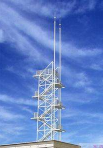 Hot Sale ASTM Grade Angle Steel Hot DIP Galvanzied Lightning Mast Tower