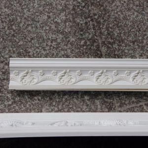 Polyurethane Carved Cornice Molding PU Crown Moulding Hn-80116