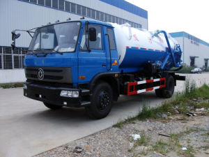 Dongfeng 153 Sewage Suction Truck