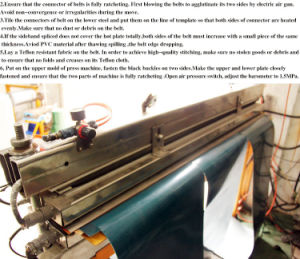 Bang Tai Conveyor Belt Splicing Machine pictures & photos
