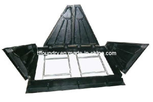 En124 Ductile Iron Telecom Manhole Cover & Frames for Communication Project
