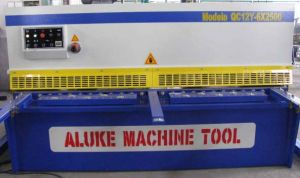 Hydraulic Shearing Machine (QC12Y 6X2500) pictures & photos