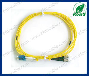 Fiber Optic Jumper Patch Cord LC-St Single Mold pictures & photos