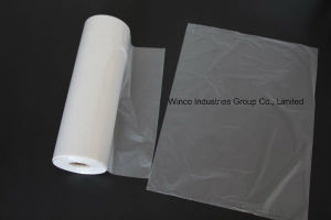 White Waste Paper Bin Liners on Roll pictures & photos