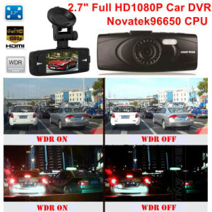 "Hot Sale 2.7"" FHD1080p Dash GPS Google Map Tracking Car DVR with 5.0mega Sony Imx323 Car Camera Digital Recorder; H264. HDMI Video out, Parking Control DVR-2715 pictures & photos"