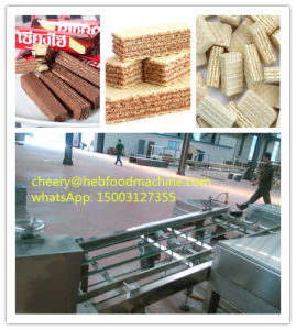 Sh High Quality Cheap Wafer Biscuit Making Line pictures & photos