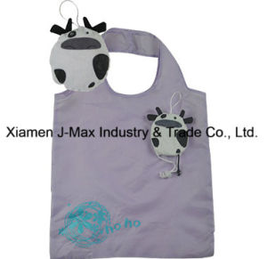 Foldable Shopping Eco-Friendly Bag, Animal Cow Style, Reusable, Grocery Bags and Handy, Promotion, Lightweight, Accessories & Decoration, Tote Bag pictures & photos