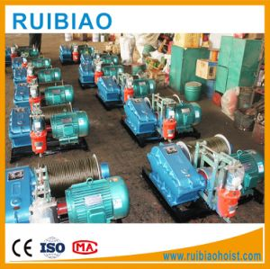 Electric Wire Rope Hoist Winch 10ton pictures & photos
