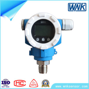 Smart Pressure Transmitter with New Technology & Large Screen, 4~20mA/Modbus Output pictures & photos
