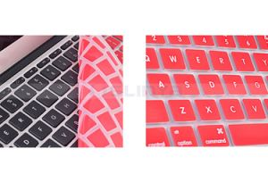 Clear Custom Laptop Keyboard Silicon Skin Cover EU Version Colors Silicon Keyboard Cover for MacBook Air PRO Protector Screen Skin pictures & photos