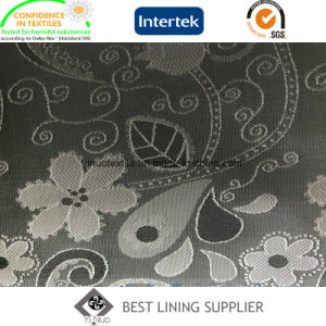 New T/R Men′s Suit Jacket Jacquard Lining Fabric Manufacturer pictures & photos