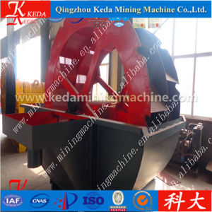 Wheel Bucket Type Silica Sand Washer Price pictures & photos