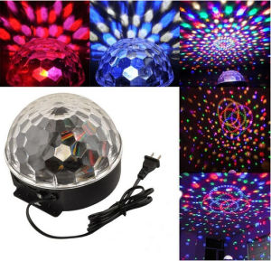LED Stage Light Full Color Rotating Lamp