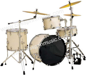 High Grade/PVC 4 PCS Drum Set / Percussion Instrument /Cessprin Music (CSP401) pictures & photos