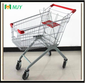 100 Liters Powder Coating Shopping Trolley Cart Mjy-100b-TPR pictures & photos