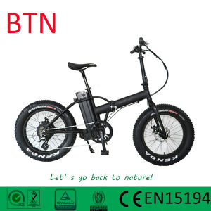 20inch Electric Folding Snow Bike with Fat Tire