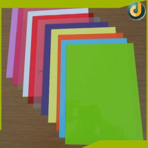 Colorful PVC Sheet Book Binding Cover for Sale