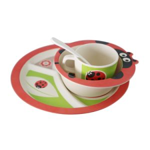 Popular Food Grade Melamine Tableware Bamboo Fiber Kids Dinnerware Set  sc 1 st  Made-in-China.com & China Popular Food Grade Melamine Tableware Bamboo Fiber Kids ...