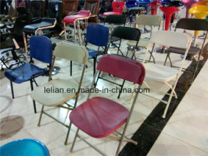 Comfort Steel Chair with Uph Seat & Link (LL-1172) pictures & photos