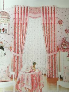 Home Use Curtain Polyester Fabric EDM5337