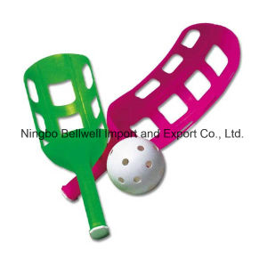 Indoor&Outdoor Spoon Racket Set with Customized Logo pictures & photos