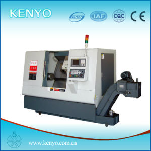 High Rigidity Lineal Guideway Slant CNC Lathe in CE