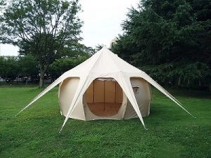 5 Metre 360 Gsm Fireproof Pro Canvas Bell Tent Boutique & Bell Canvas Tent - Best Canvas 2018